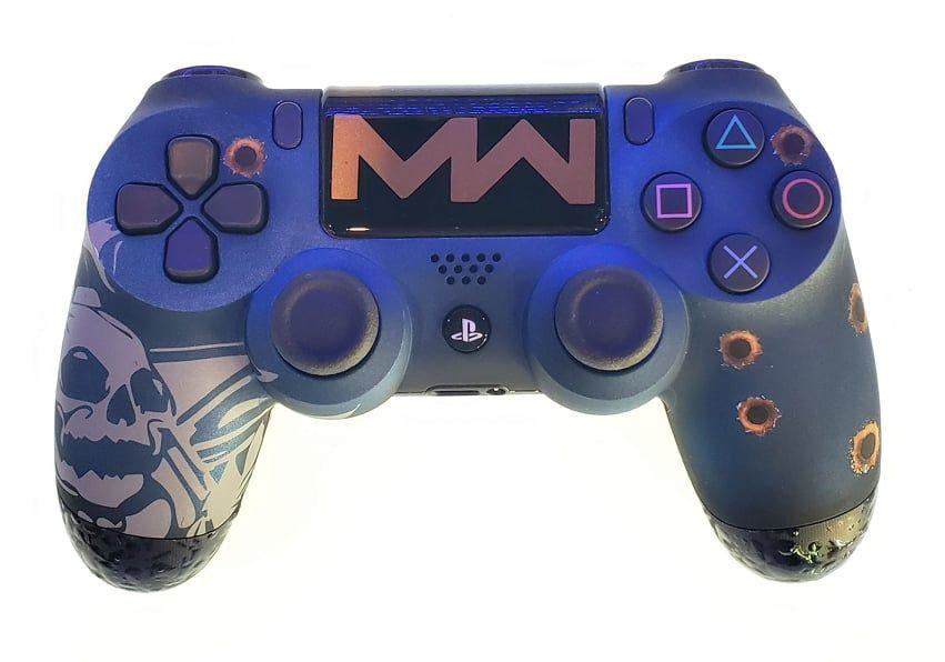 Controle Original Sony COD Modern Warfare Azul - Ps4