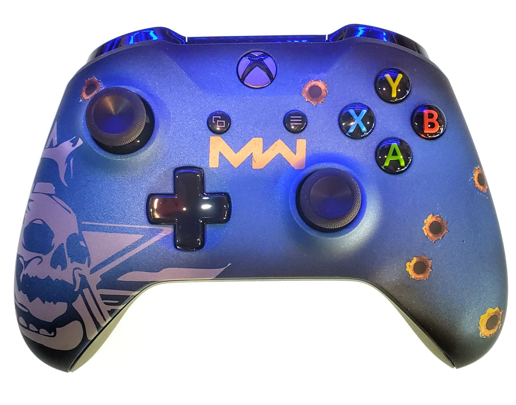 Controle Original Microsoft COD MW Azul - Xbox One