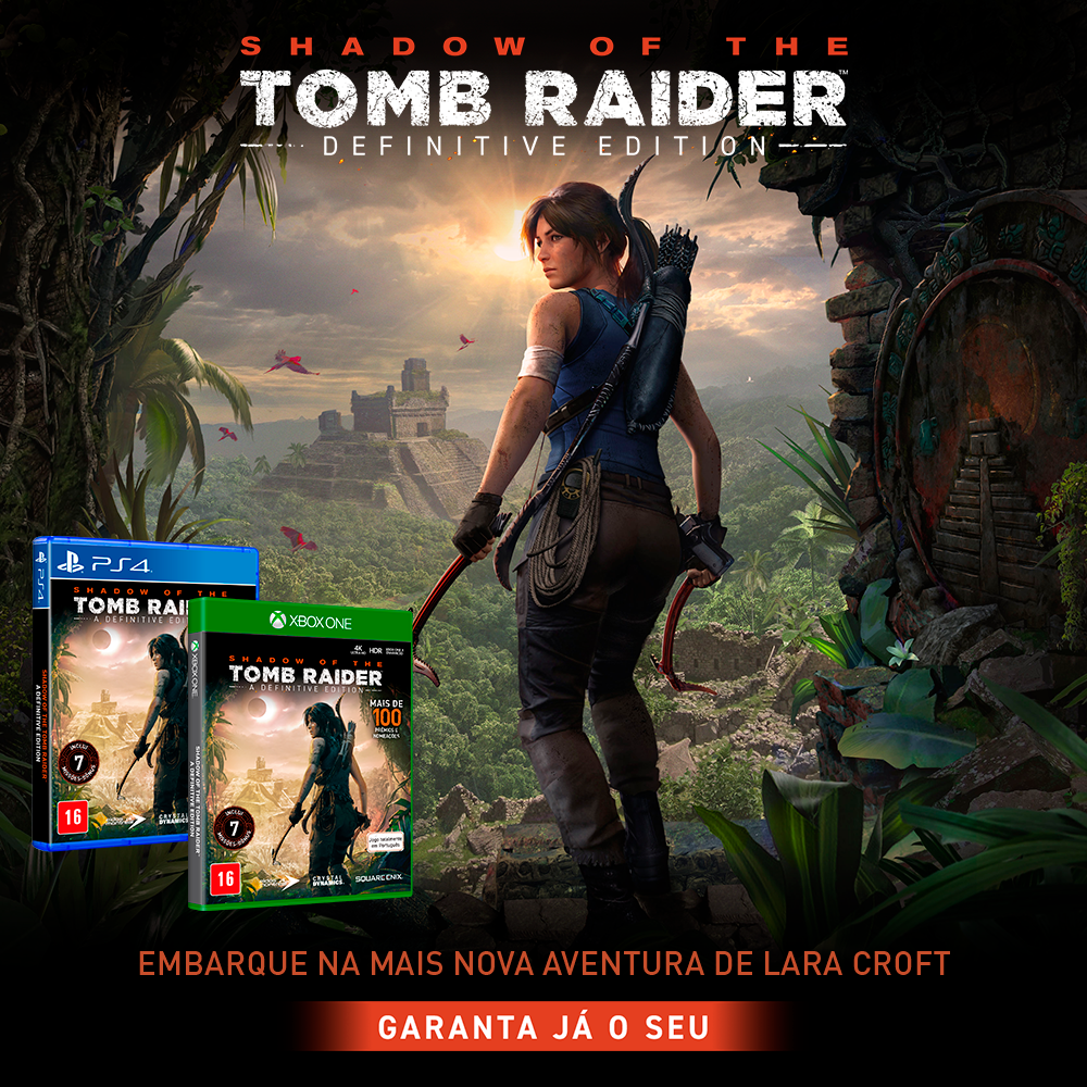 Shadow Of The Tomb Raider Definitive Edition - Xbox One Midia Fisica
