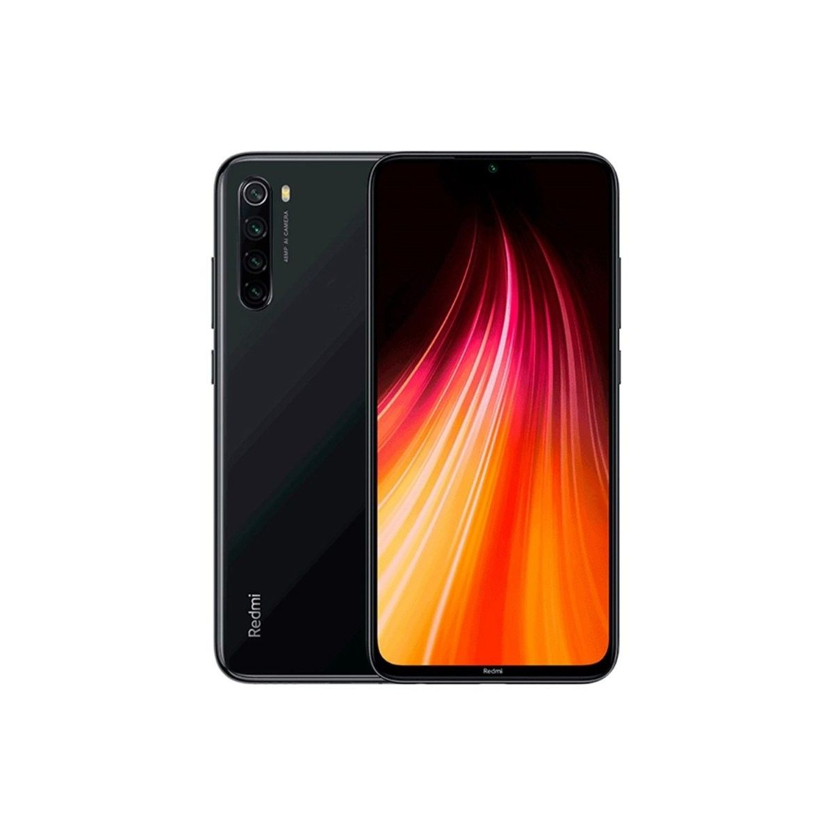Xiaomi Redmi Note 8 Dual Sim 128 Gb Space Black 4 Gb Ram