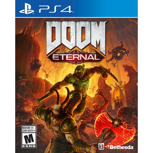 Jogo Doom Eternal - Ps4