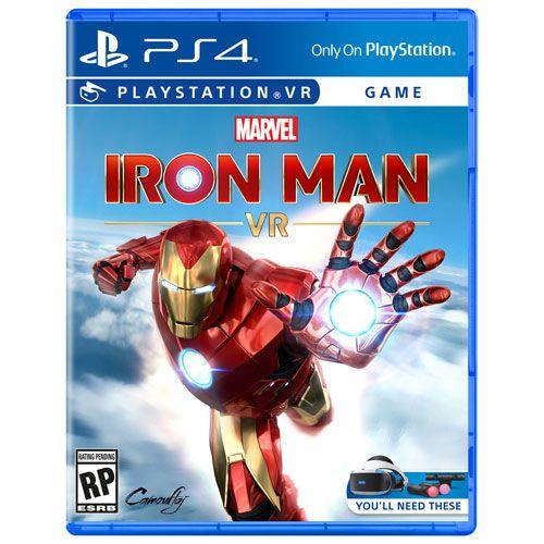 Jogo Marvel's Iron Man Vr - Psvr Pré Venda 28/02/2020