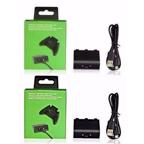 Kit Play & Charge Preto para Xbox One