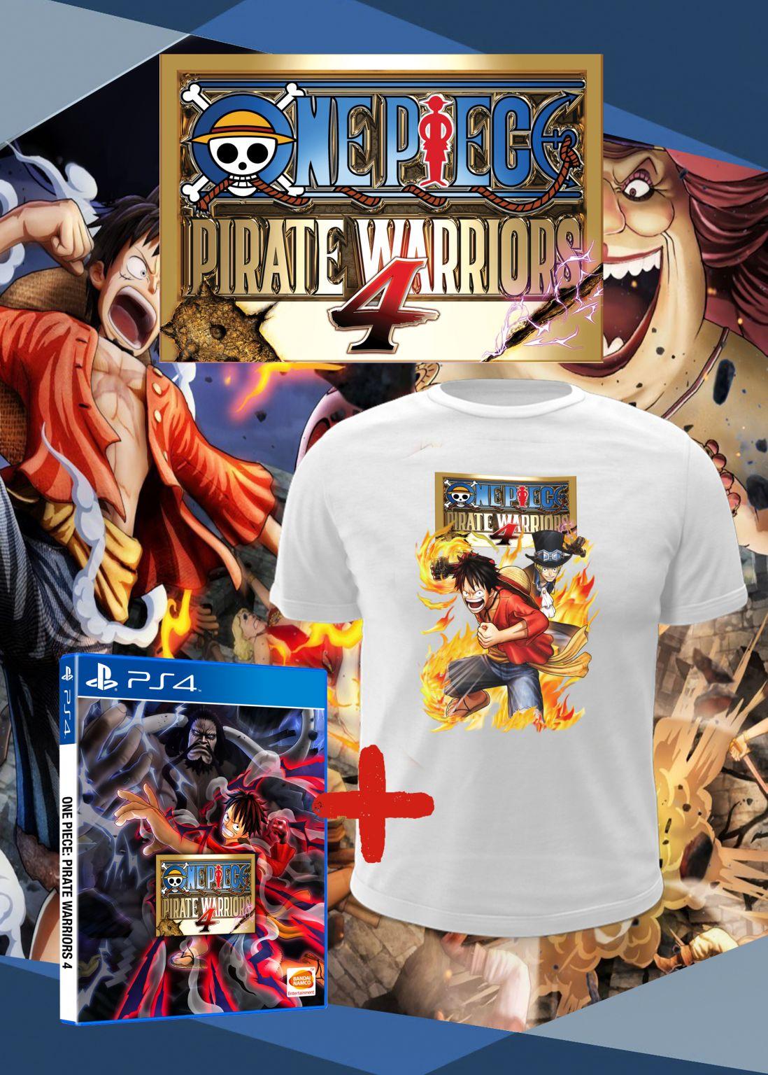 Jogo One Piece: Pirate Warriors 4 - PS4 Pré Venda 27/03/2020