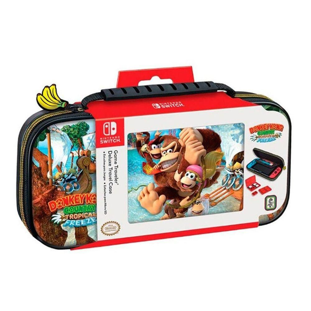 Case Nintendo Switch Game Traveler Deluxe System Donkey Kong