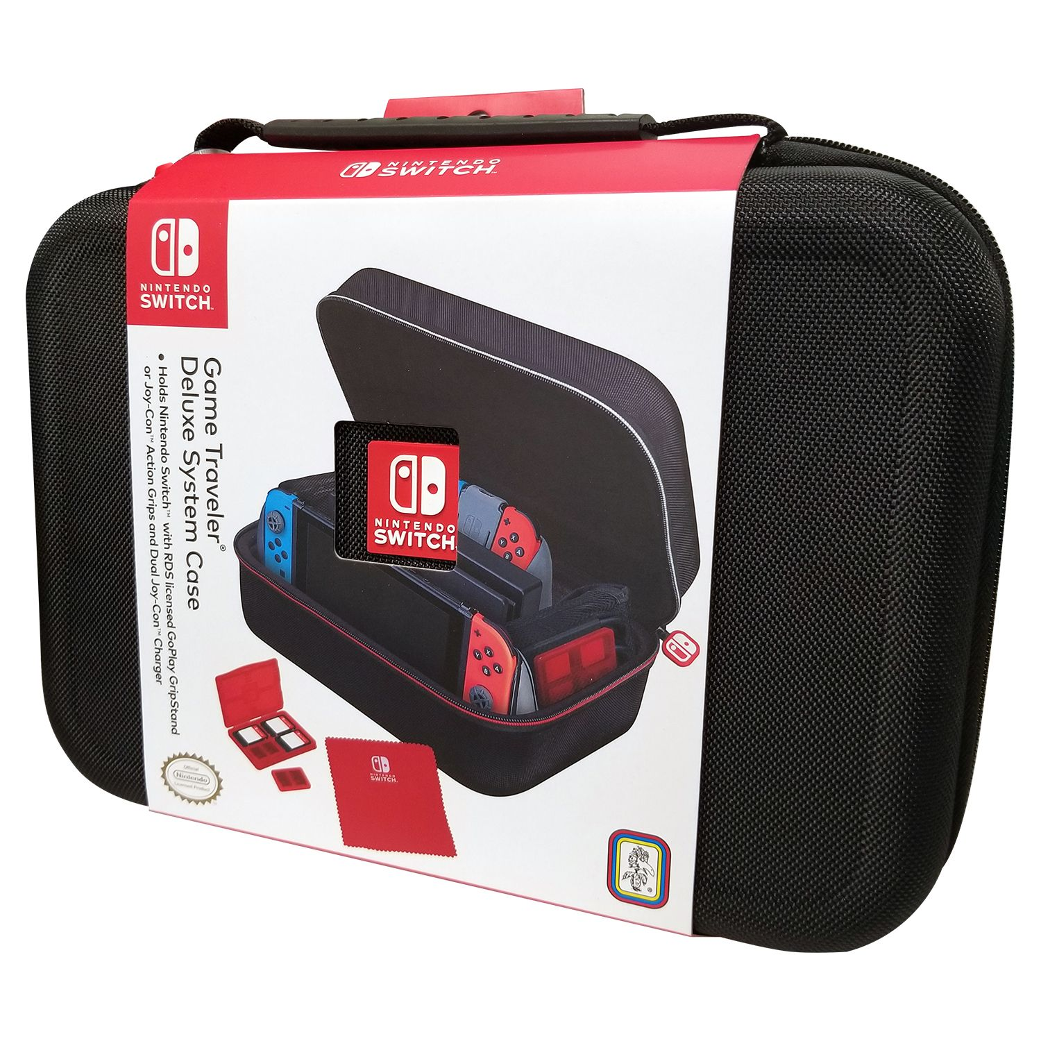 Case Nintendo Switch Game Traveler Deluxe System