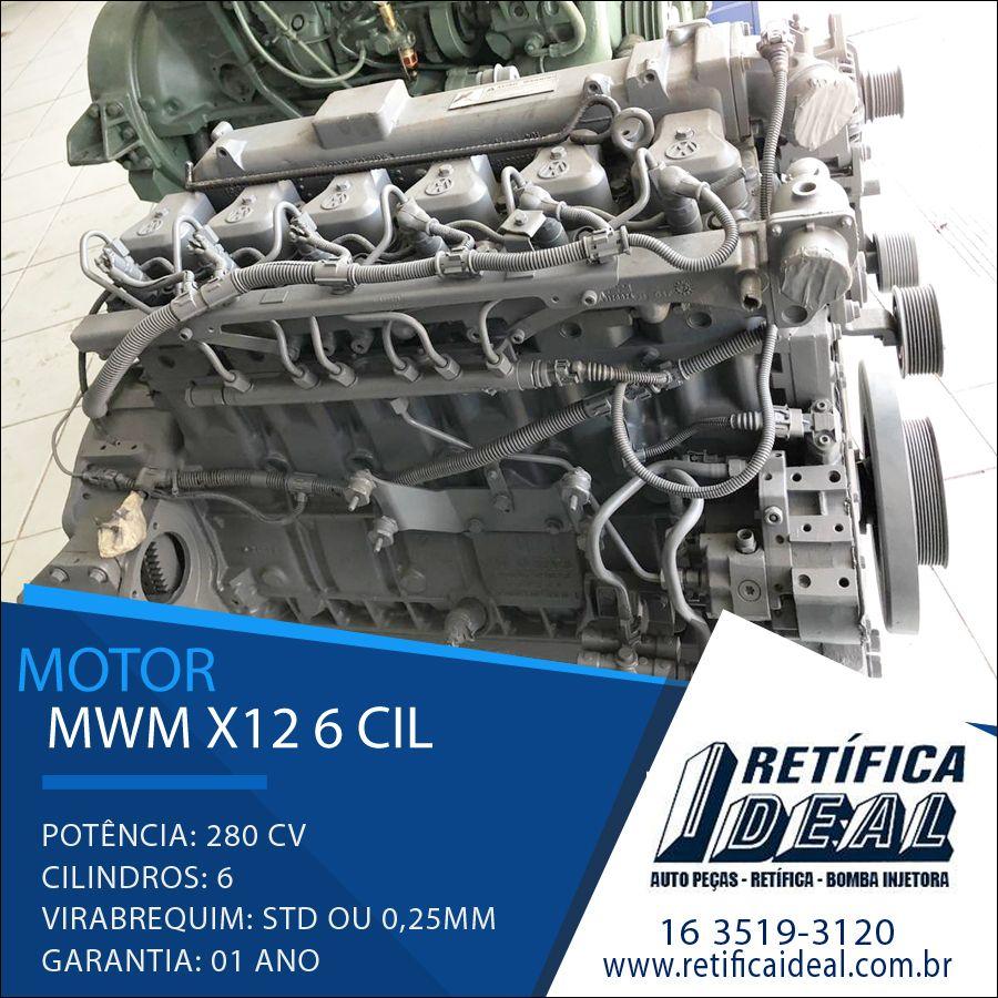 MWM X-12 6 Cil