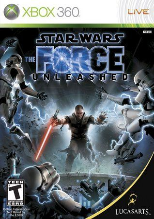 Jogo Star Wars The Force Unleashed - Xbox 360 Usado