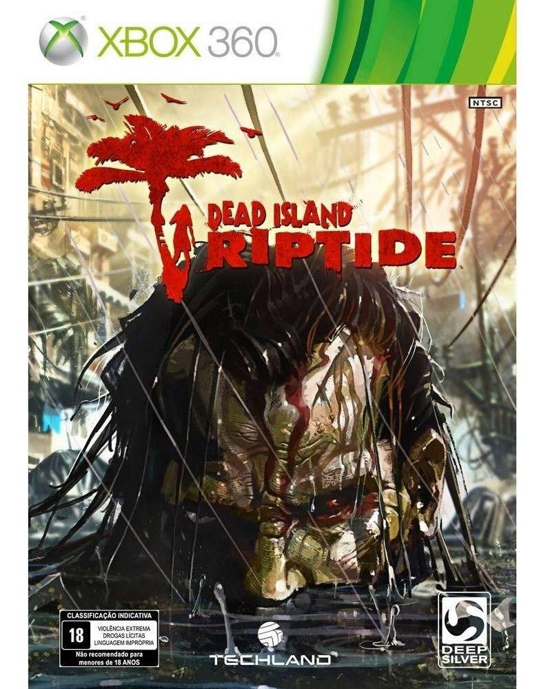 Jogo Dead Island Riptide  Xbox 360 Mídia Física Usado