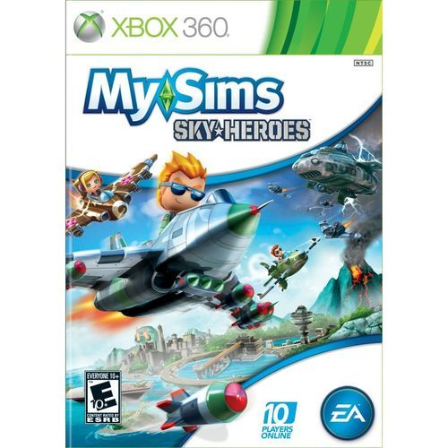 Jogo My Sims Sky Heroes - Xbox 360 Mídia Fisica Usado
