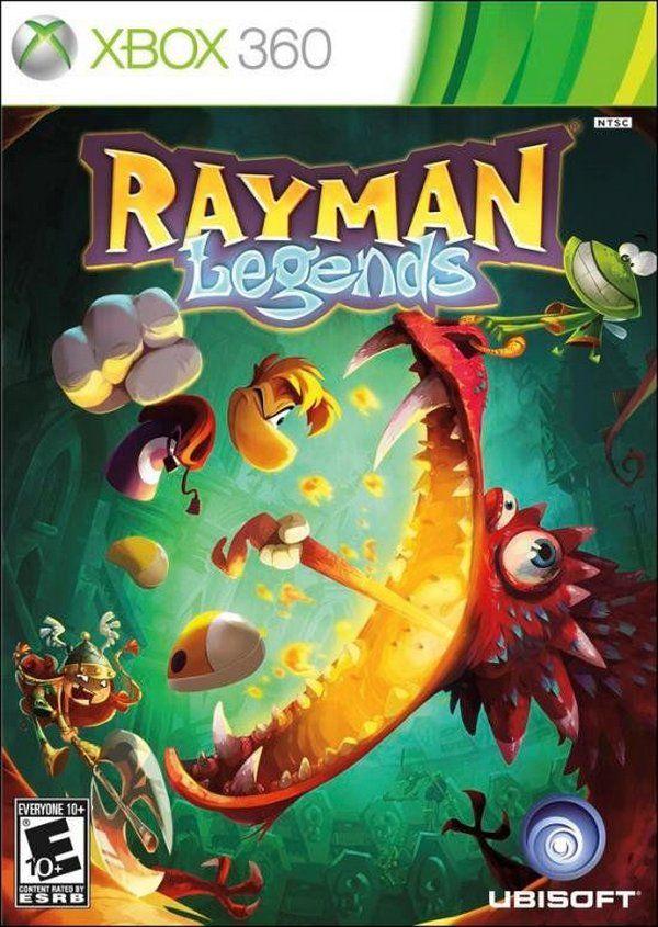 Jogo Rayman Legends - Xbox 360 Mídia Física Usado