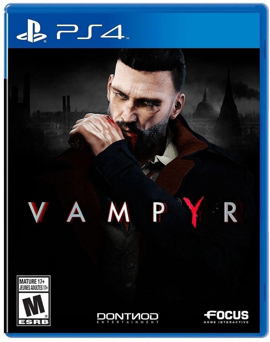 Jogo Vampyr - Ps4 Midia Física Usado