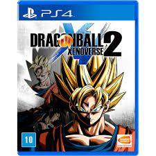 Jogo Dragon Ball Xenoverse 2 - PS4 Mídia Física