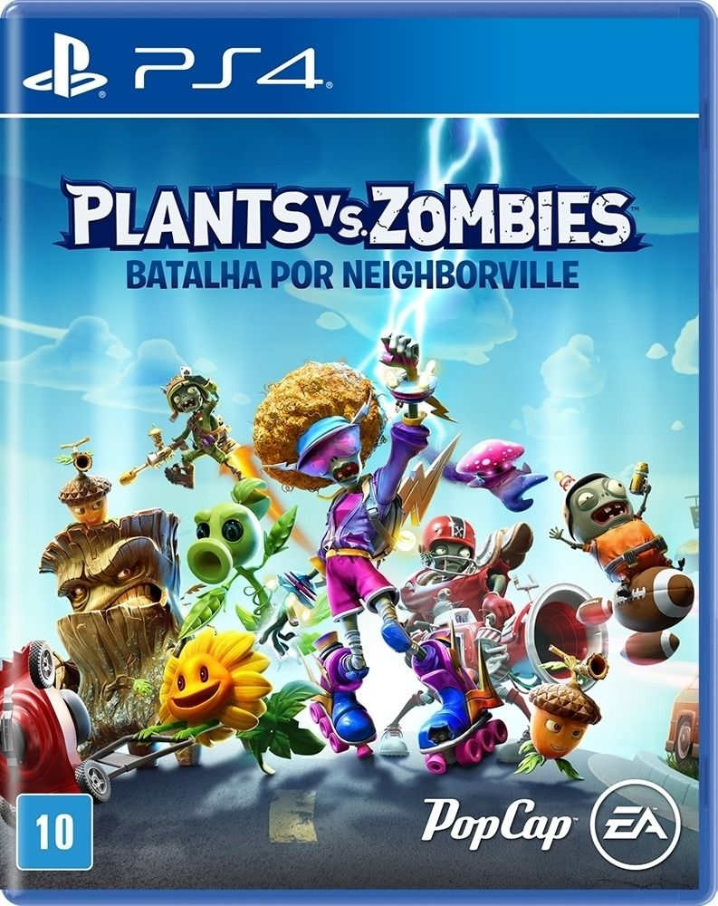 Plants VS Zombies Batalha Por Neighborville  PS4
