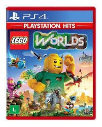 Lego Worlds Playstation Hits - Ps4 Mídia Física
