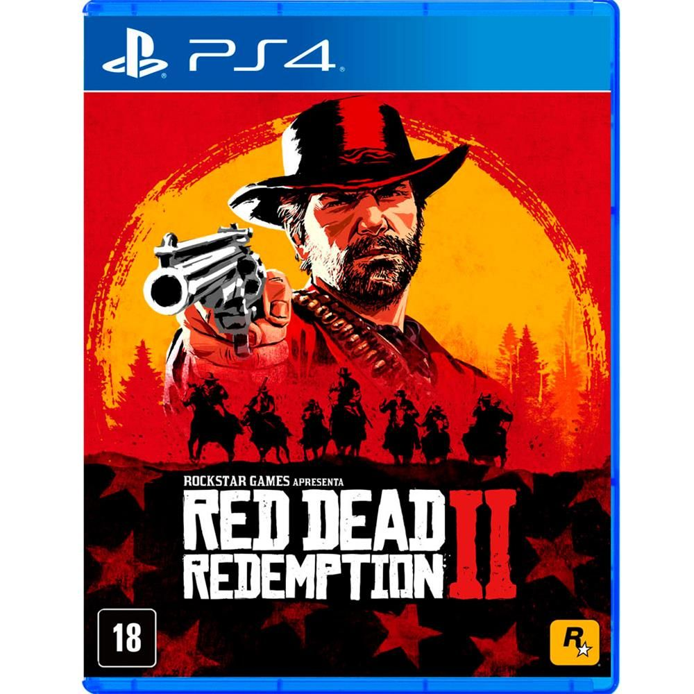Jogo Red Dead Redemption 2 - Ps4 Mídia Física Usado