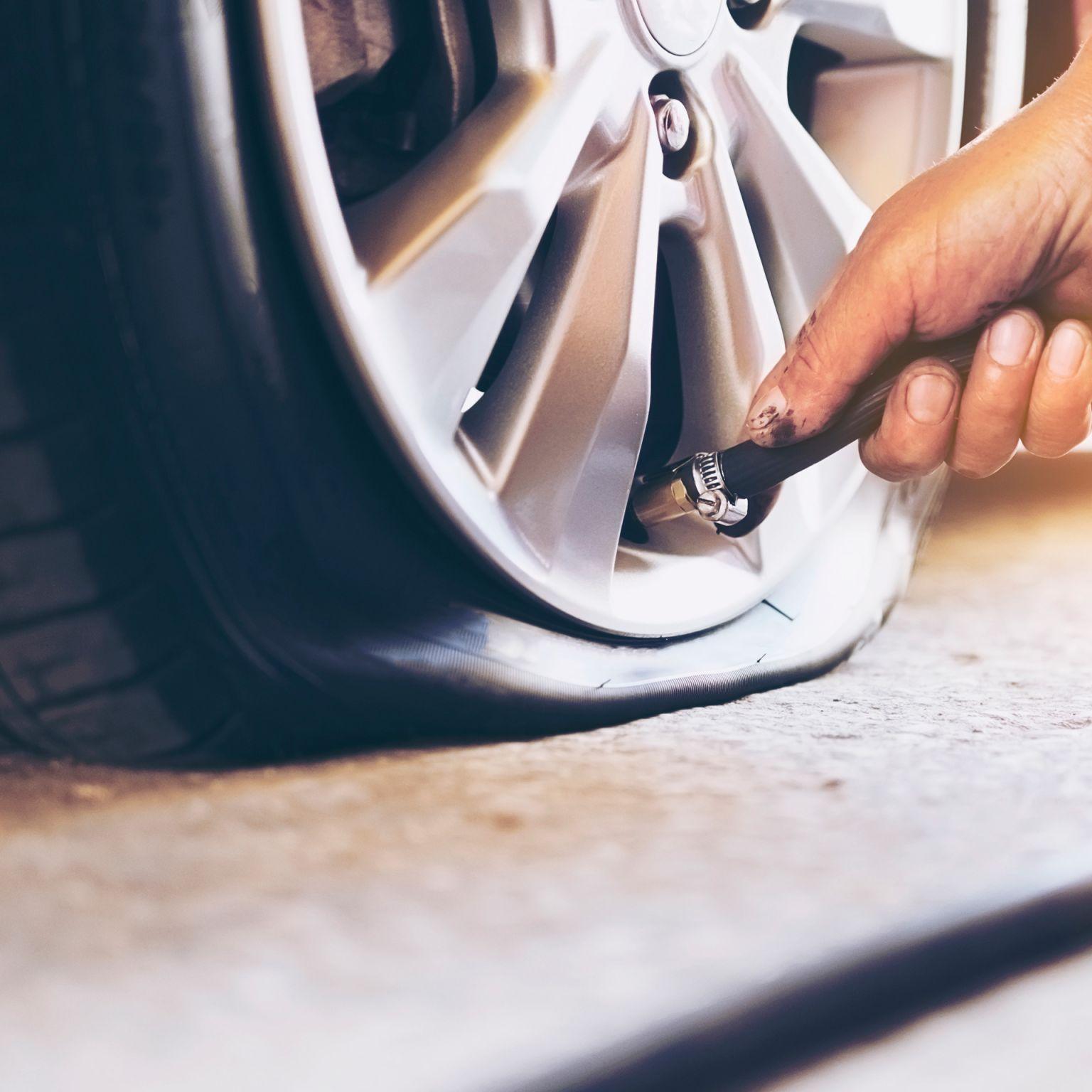 Reparo em pneus