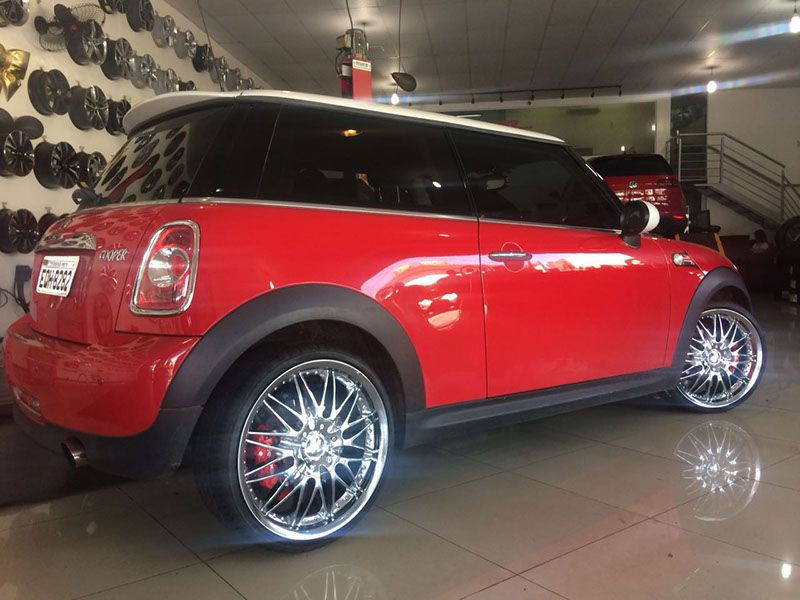 Rodas customizada para Mini Cooper