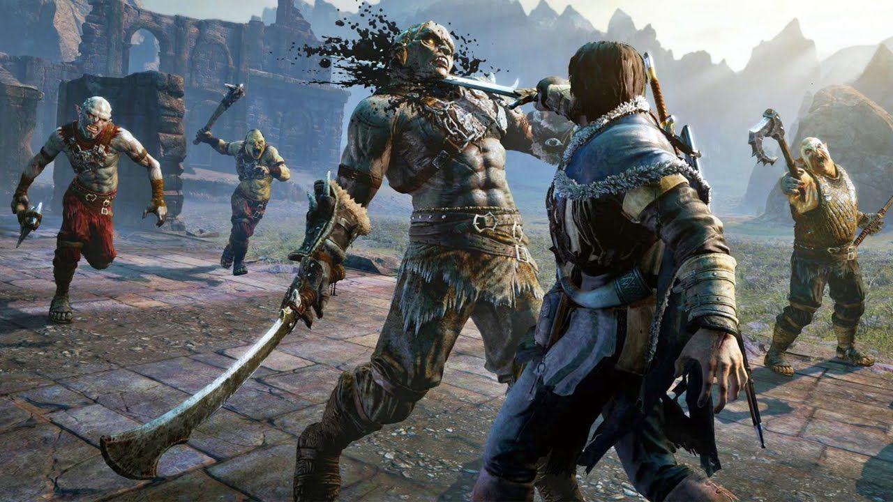 Terra-Média: Sombras de Mordor - PS4 Semi-novo