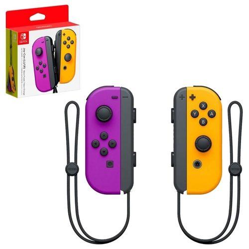 Controle Oficial Nintendo L R - Switch Roxo