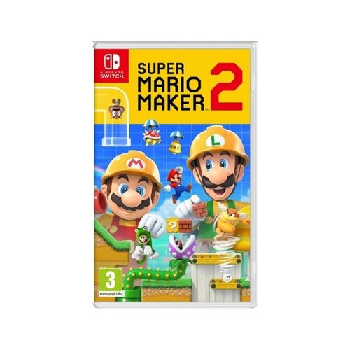Jogo Super Mario Maker 2 - Nintendo Switch