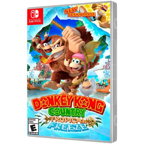 Jogo Donkey Kong Country Tropical Freezee - Nintendo Switch