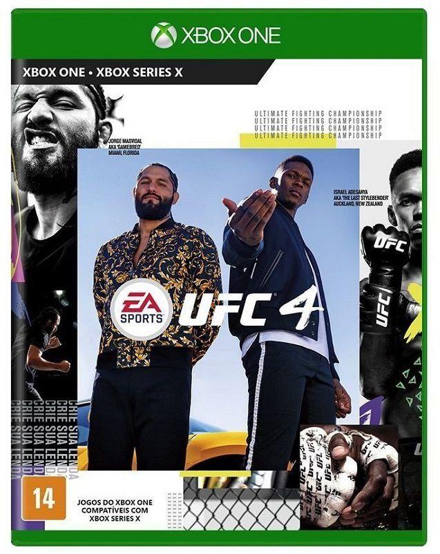 Jogo UFC 4 - Xbox One Mídia Física