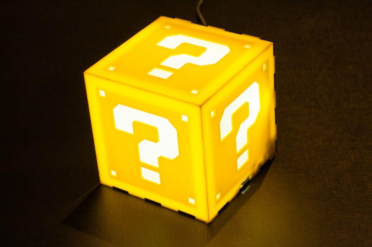 Luminaria com Retro box - 2 Controles Super Classic - 32GB