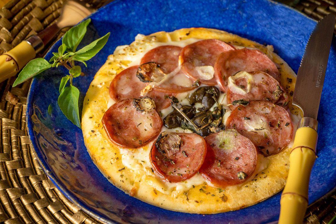 Pizza de Calabresa Light