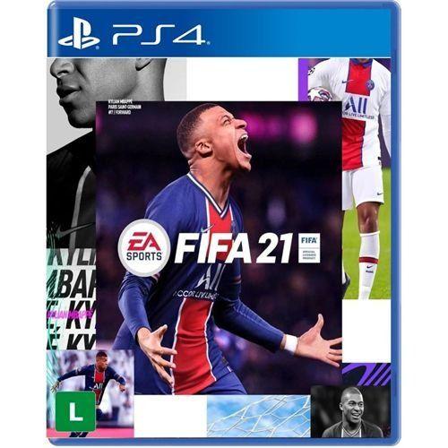 Fifa 21 - PS4 Mídia Física