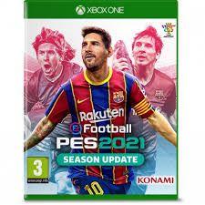 Pro Evolution Soccer 2021 - Xbox One Mídia Física Pré Venda 15/09/2020