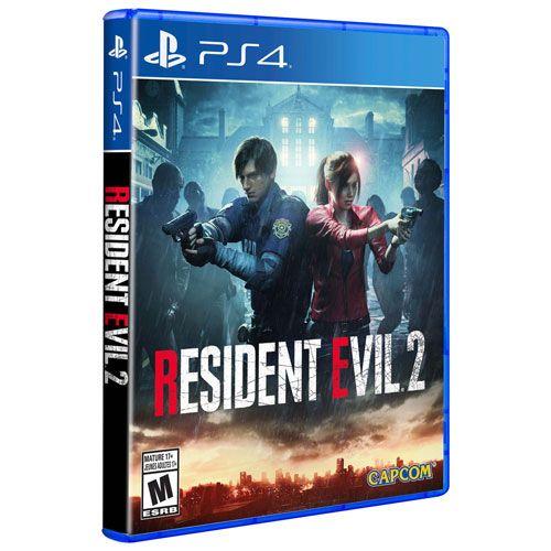 Resident Evil 2 Remake - Ps4 Mídia Física Usado